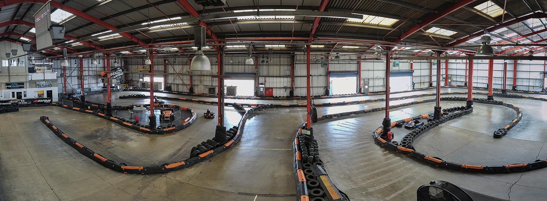 Formula Fast Milton Keynes Track Panoramic