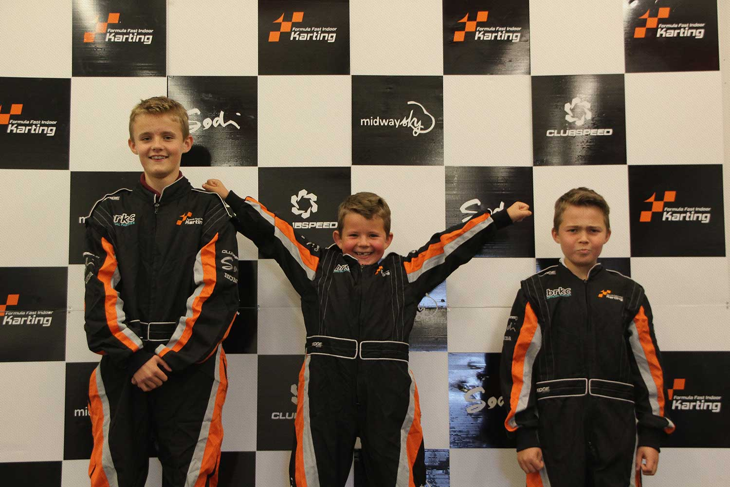 Kids On The Podium