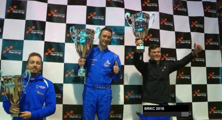 British Rental Kart Championship Top Three 2018
