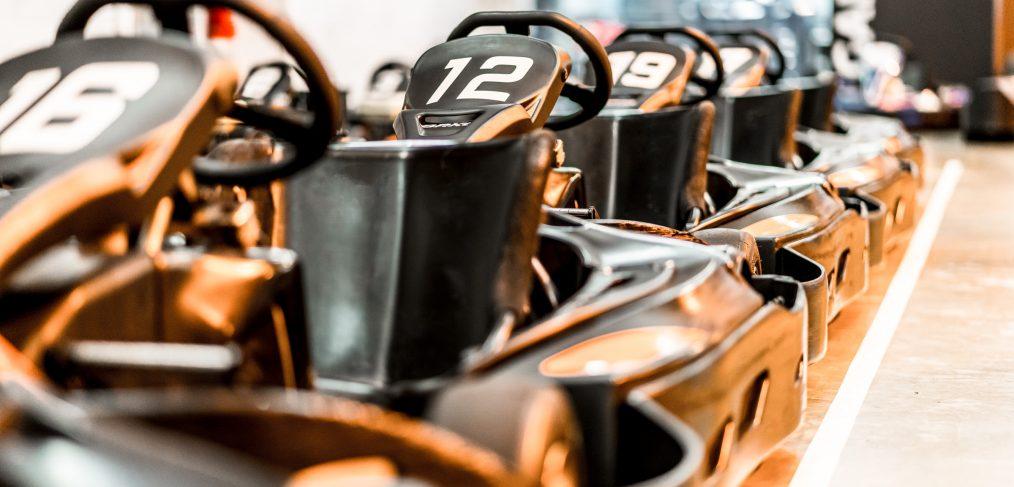 Sodi GT5 Karts In Pitlane
