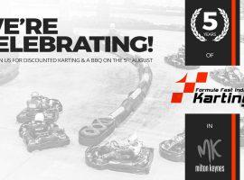 Formula Fast 5 Year Anniversary