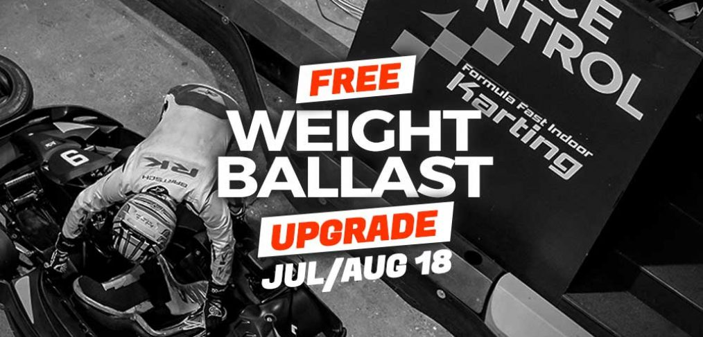 Special Offer Free Weight Ballast Upgrade