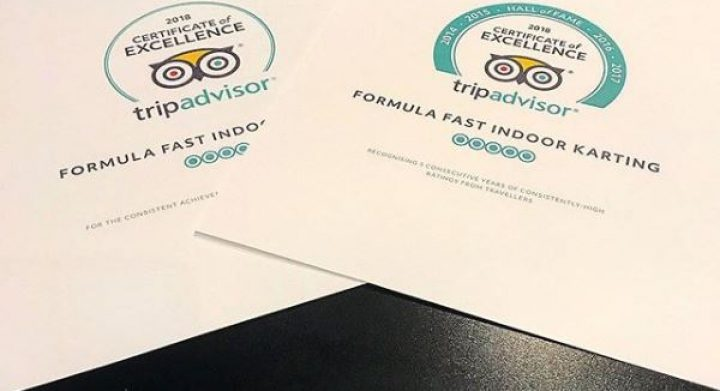 Tripadvisor Hall of Fame Certificates