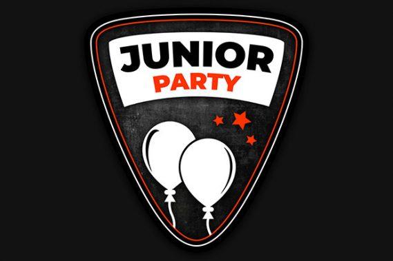 "<i class=""fa fa-birthday-cake fa-lg"" aria-hidden=""true"" style=""color: #ff3300; margin-right: 5px;""></i>Junior Parties"